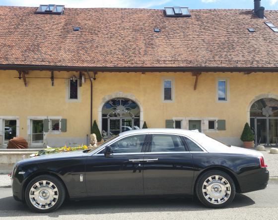 Mariage féerique en Rolls Royce Ghost