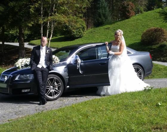 Mariage féerique en Audi S8